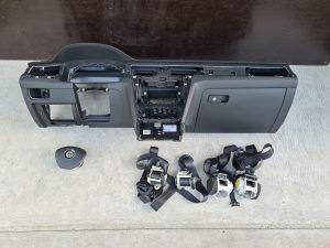 Komplet airbag tabla VW Passat 8 B8 volana pojasevi