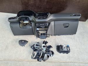 Komplet airbag tabla Peugeot 208 2013-2020 god volana p