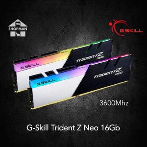 G.Skill Trident Z Neo RGB 2x8GB (16GB) DDR4 3600MHz CL16