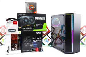 Gaming PC Metropolis 16; R5 3600; GTX 1650; 500GB SSD