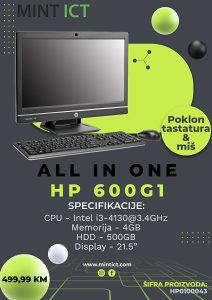 """All in one HP 600G1 """"POKLON"""" TASTATURA I MIŠ"""