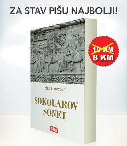 "Knjiga ""Sokolarov sonet"" - Roman Irfana Horozovića"