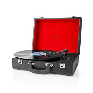 Gramofon Nedis zvucnici bluetooth 18W
