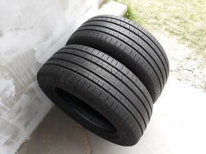 Ljetne gume 235/55 17 Pirelli sara 7mm ocuvane