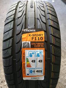 275 45 20 Tracmax XSport R20 LJETNE GUME