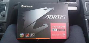 Aorus rx 580 8GB rx580