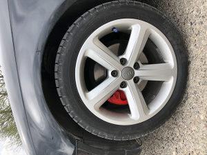 Alu Felge 17 ke 5x112 sa gumama Audi Mercedes Vw