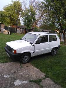 Fiat Panda registrovana.