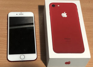 IPhone 7 128GB red product icloud free 128 gb