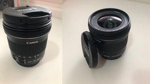 Canon objektiv 10-18 mm