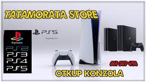 Playstation 4 otkup kupujem potražnja ps4 ps5