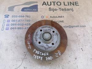 Peugeot Partner Teppe diskovi lezaj zadnji