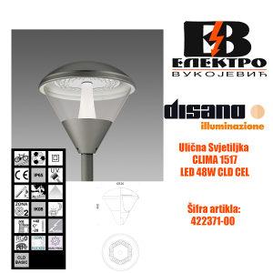 Ulična svjetiljka CLIMA 1517 LED 48W CLD CELL Disano