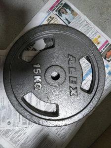 ALEX ATLETIX 2x15kg tegovi