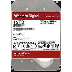 "WD Red Plus 12TB Sata 3 WD120EFBX 3.5"""