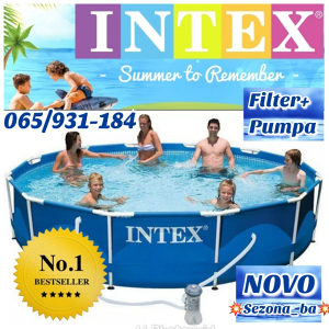 Bazen INTEX METAL 305x76 filter+pumpa-065/931-184