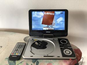 Lenco portable DVD player TV