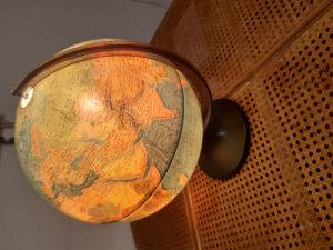Globus i lampa