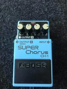 Boss chorus pedala