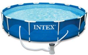Bazen INTEX 366x76cm Metal frame + pumpa i pokrivač