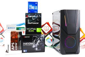 Gaming PC Hornet 4; i3-10100F; GT 1030; 120GB SSD; DDR4