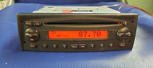 RADIO CD - IVECO DAILY,CITROEN  JUMPER II, FIAT DUCATO