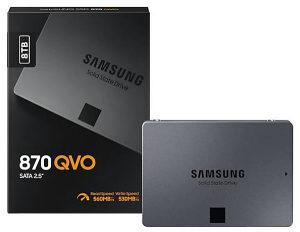 "SAMSUNG 8TB 870 QVO SATA 3 2.5"" SSD disk 8 tb"