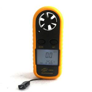 Digitalni anemometar termometar mjerenje brzine vjetra
