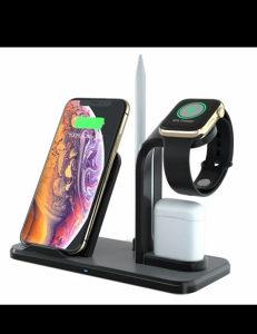 Odvojivi 3 u 1 bežični punjač za Iphone XS MAX Apple Wa