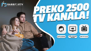 IPTV rabbit | TEST 48H | VRAĆANJE KANALA 48H