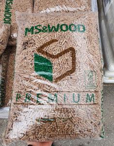 PELET MS&WOOD PREMIUM A1 EN PLUS