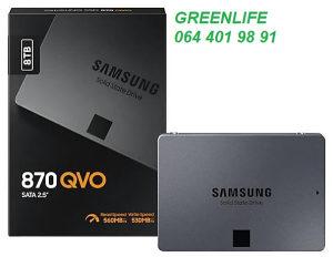 SAMSUNG 8TB 870 QVO 8 TB SSD DISK MZ-77Q8T0BW
