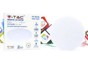 LED Plafonjera V-Tac 18W zvjezdano nebo SKU-7604