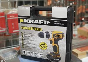 Aku Bušilica Kraft 18V 2 Baterije Kofer