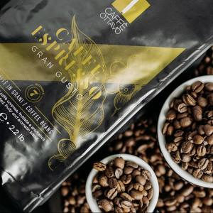 CAFFE OTTAVO GROUND Beans 7. GRAN GUSTO 1KG