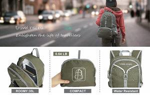 Travel Putni Inspira mini džepni ruksak torba 30L