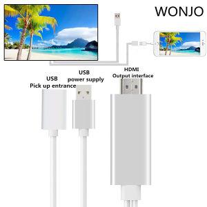 HDMI adapter kabal iPhone iPad ios 5/5S/6/6S HDTV