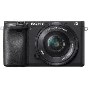 Sony Alpha a6400 with 16-50mm f/3.5-5.6 OSS Lens