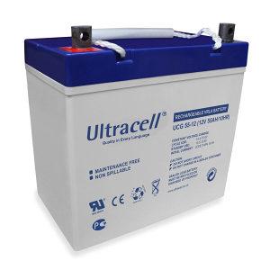 Gel suhi akumulator Ultracell 12v 55ah