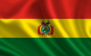 Bolivija zastava Bolivia