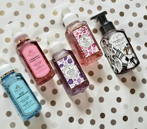 Tecni sapuni Bath&Body works