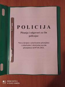 Skripta za policiju MUP KS(KONKURS IZASAO)