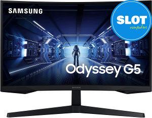 """Curved Samsung Odyssey G5 LC27G55TQWRXDU 27"""" QHD 144Hz"""