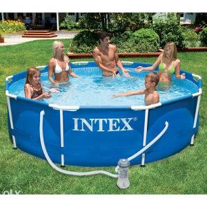 BAZEN INTEX METAL 366x76, filter+pumpa, 063-722-022