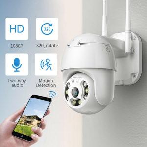 Vanjska WiFi rotirajuća PTZ Kamera FullHD 1080p