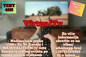 IPTV INTERNET TELEVIZIJA 8000TV SADRZAJA