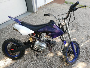 Pitbike cross 107ccm