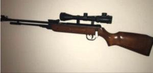 Vazdusna zracna puska 5,5mm. Kandar. Novo