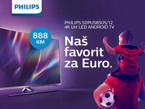 "TV PHILIPS SMART 4K LED 50"" 50PUS8505/12 Ambilight"