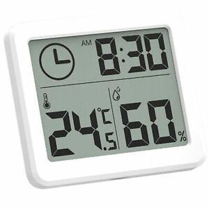 Termometar digitalni bijeli sat